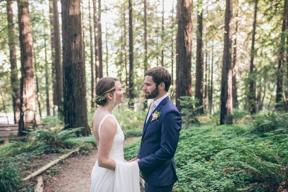 UC BERKELEY BOTANICAL GARDENS & REDWOOD GROVE WEDDING