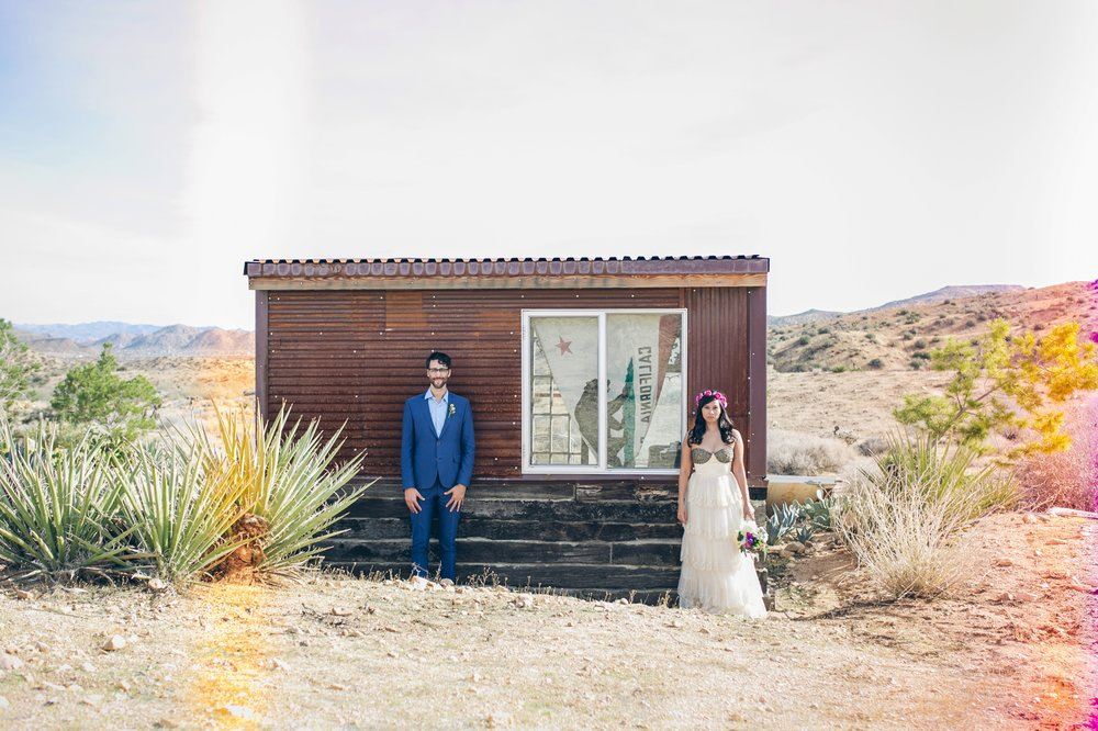 JOSHUA TREE & RIMROCK RANCH WEDDING