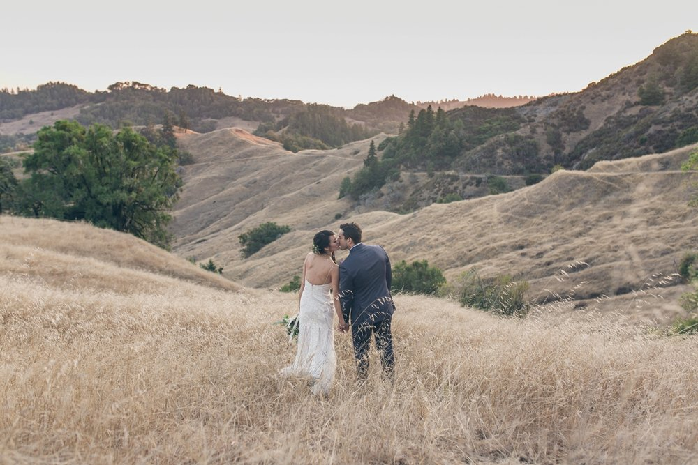 MENDOCINO LEONARD LAKE RESERVE WEDDING