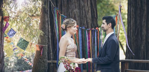 SANTA CRUZ MOUNTAINS WEDDING