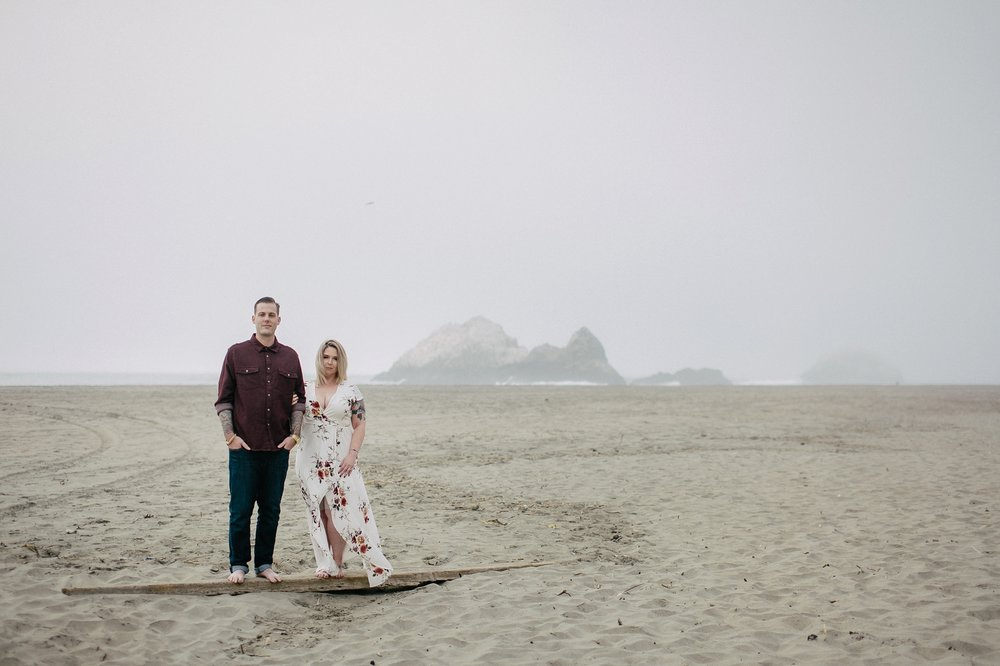 San Francisco Lands End Engagement