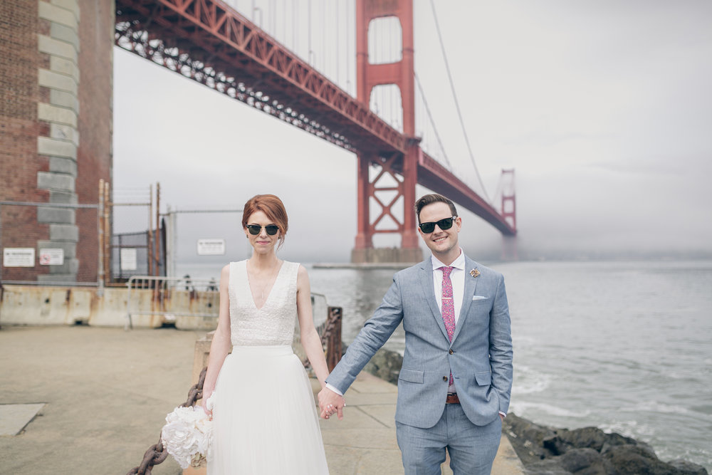- Planning a San Francisco Wedding from Chicago was not easy. Laurie was an absolute gem to work with and shot our City Hall Wedding perfectly! She was highly communicative with quick response times and great ideas. I didn't give her a lot of direction, just that we wanted iconic City Hall shots and a few photos at another location that had a lot of texture, history, and screamed