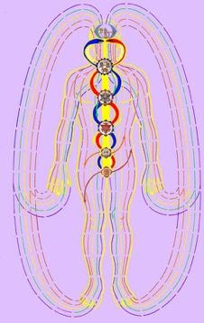 Image from Bruce Burger,  Esoteric Anatomy: The Body as Consciousness