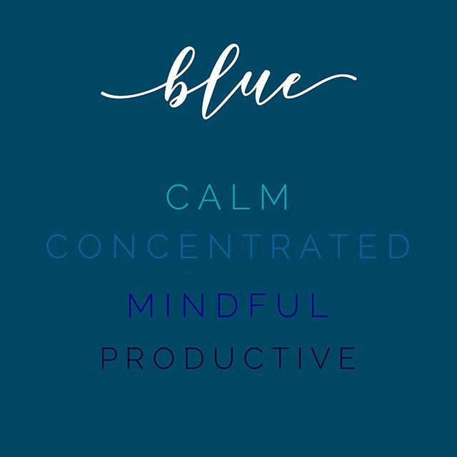 Wondering why the majority of our posts have some variety of blue in the undertone? Well just take a look above at what emotions the color blue evokes. 🔵 We focus on being concentrated and productive, whether you're at home or at work. We want to trigger that physical response to you, our follower, because we know how hard it can be to stay on top of all the things. 🔵 If you're looking to redo your office or even just hang some new pictures around your house, try picking something with the color blue. 🔵 Some great spots to use blue in your home: the laundry room, the office, an exercise room, or even the kitchen!
