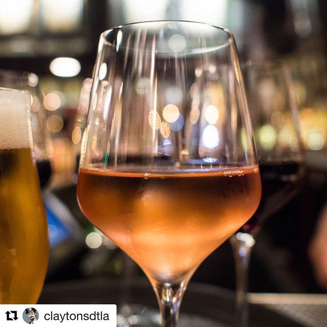 If you're in DTLA and looking to beat the heat, hit up @claytonsdtla for a proper dose of our Wasted Youth rosé of Mourvèdre.