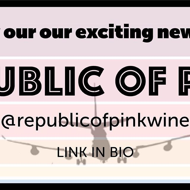 We're super excited to announce the launch of our newest and most exciting project: Republic of Pink. In the works for years, Republic of Pink is the culmination of our pursuit to craft the perfect rosé; one inspired by the great pink wines of Provence, but with a distinctly West Coast attitude. Bright aromas yet balanced acidity; rounder, riper fruit; and a seamless, crisp finish that immediately leaves you wanting more. Check the link in our bio to jump to the new @republicofpinkwine Insta page where you can find the link to our site and purchase this amazing wine. Truly the best wine we've ever made in our lives and we're sure that if you're a fan of L.A. Wine Project, you're going to freaking love Republic of Pink. . . . #losangeles #losangeleswine #rosé #roséallday #roséseason #infatuationla #eaterla #laweekly #losangelesmagazine #winemaking #californiawine #urbanwinemaker #wine
