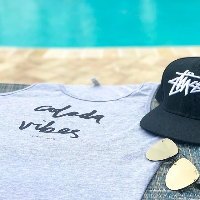 "| Spring Break Essentials | Grab your ""Colada Vibes"" tank at INKTHATINSPIRES.COM • Use our ""SPRINGBREAK"" coupon code to get 30% off your purchase!  #ColadaVibes #EspressoThenLife #InkThatInspires 🙌🏼☕️"