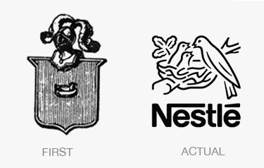Antes y después logo Nestle