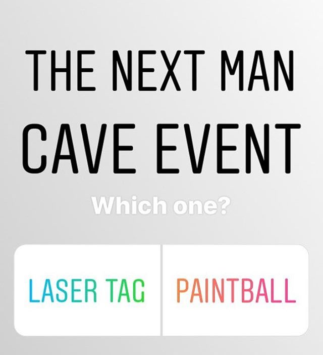 Fellas - Drop a comment below and let us know which of these two activities you would prefer to do for the next Man Cave Meet Up. • Laser Tag: @coliseumx Paintball: @splatterparkohio #ColumbusOhio #BlackMarriedLife #MarlonAnthonyEvents #ManCave614 #BlackHusbands