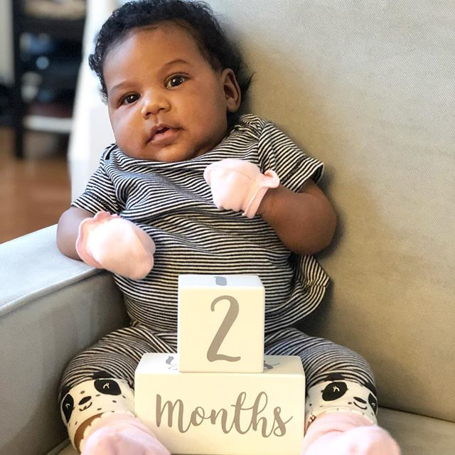 Savanah Danielle is 2 months old (as of yesterday))! 🥰🥰🥰