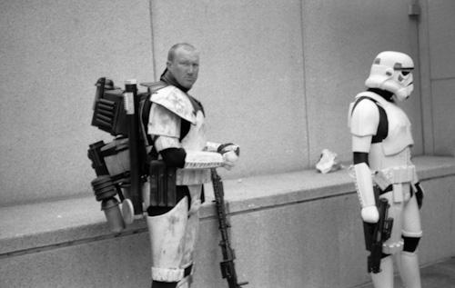 Taking a break from imposing imperial rule.
