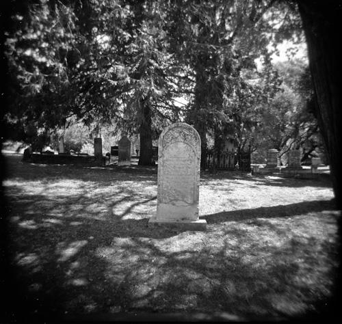 Columbia Gravestone