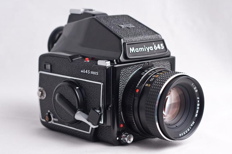 Mamiya M645 1000S