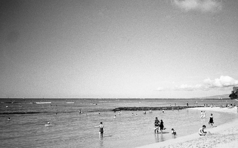 Waikiki Beach Photograph