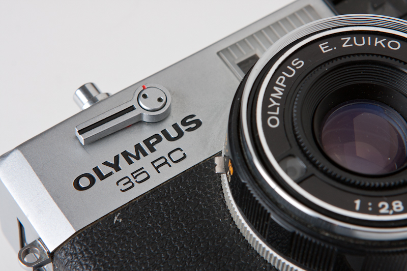Olympus 35 RC detail shot