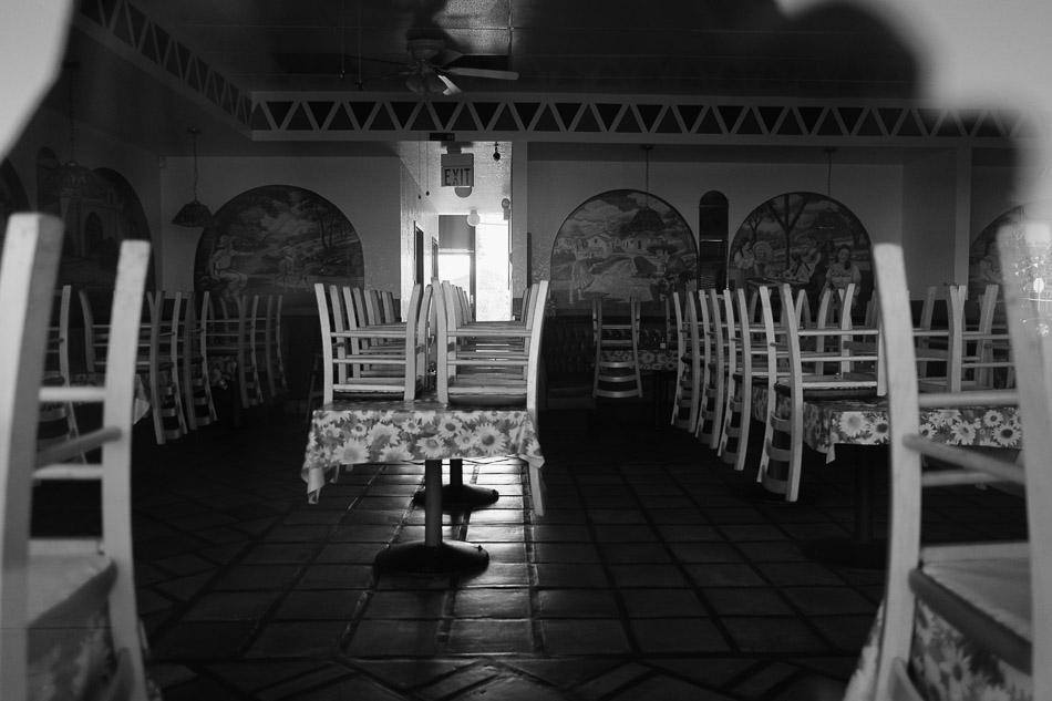 Inside Tacos Al Pastor