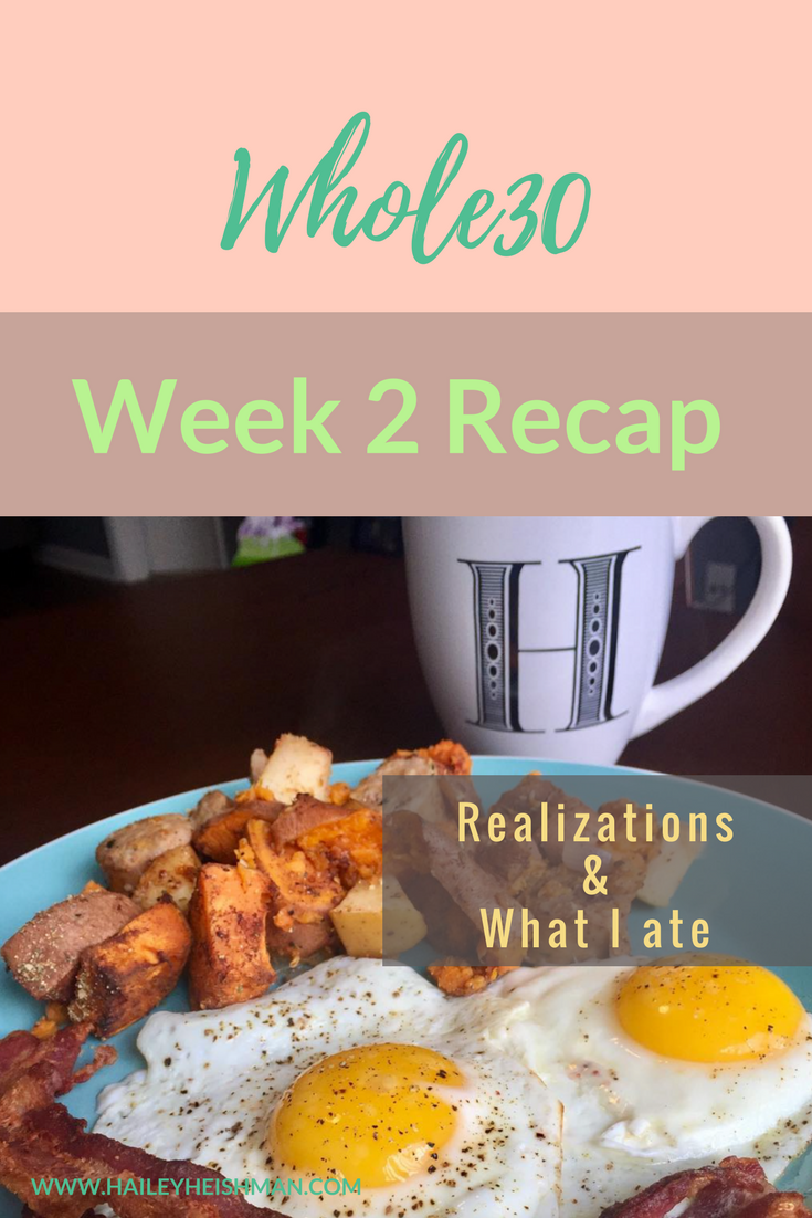 first whole30 week 2 recap