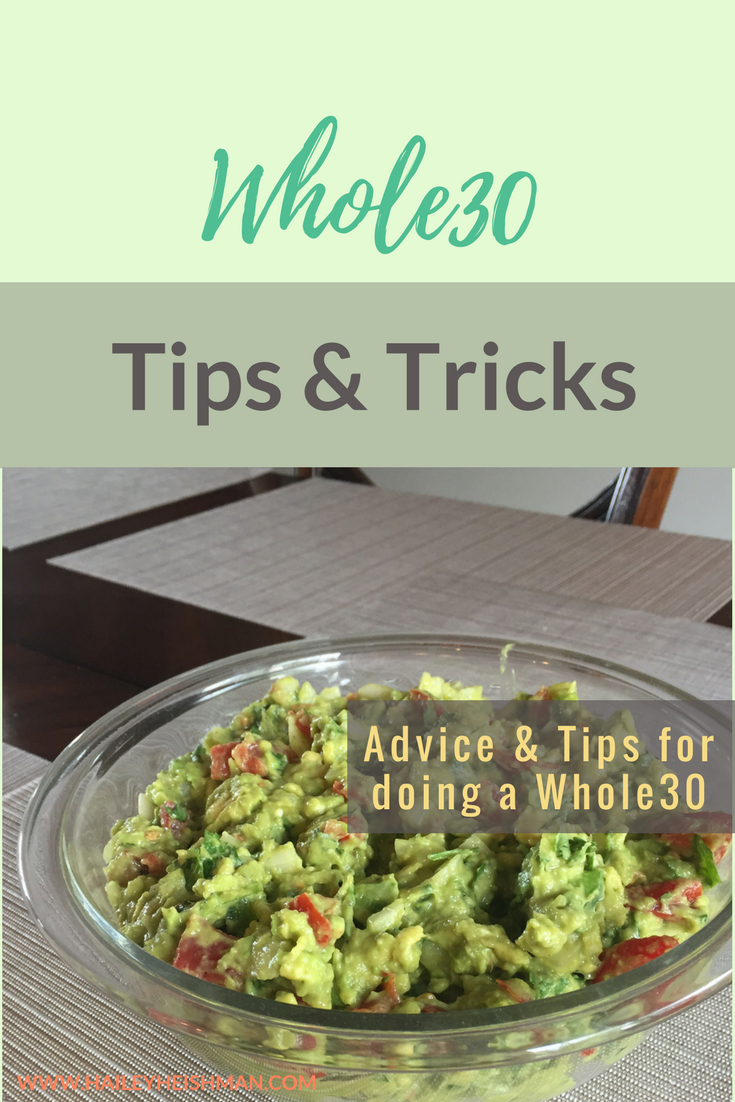 Whole30 tips and tricks