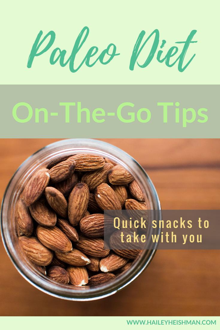 paleo on the go snacks