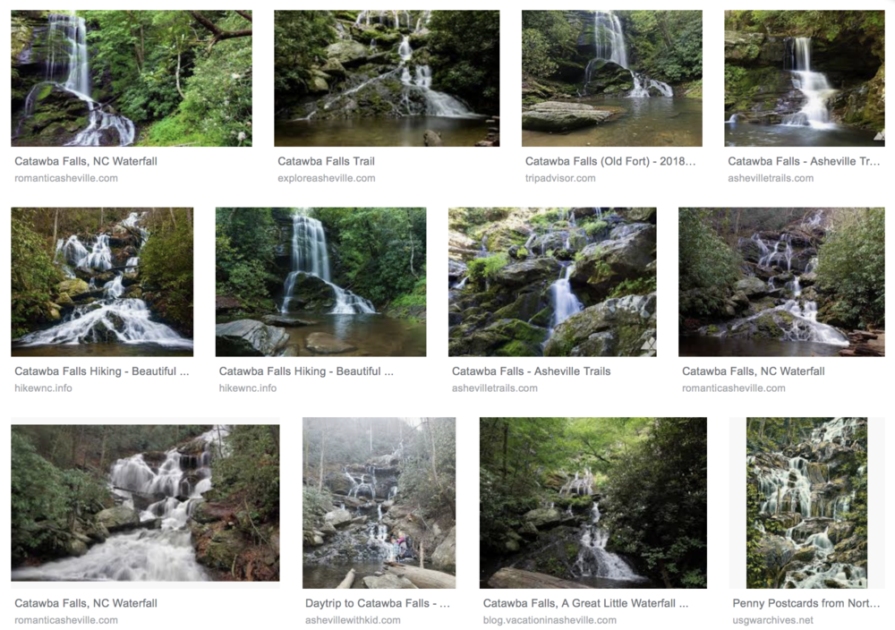 Catawba Falls Google Search