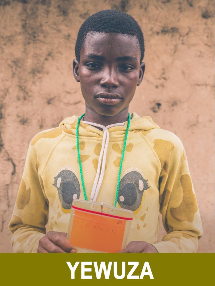 Yewuza - Available - Yewuza is 12 years old, loves playing soccer, and wants to be a teacher.
