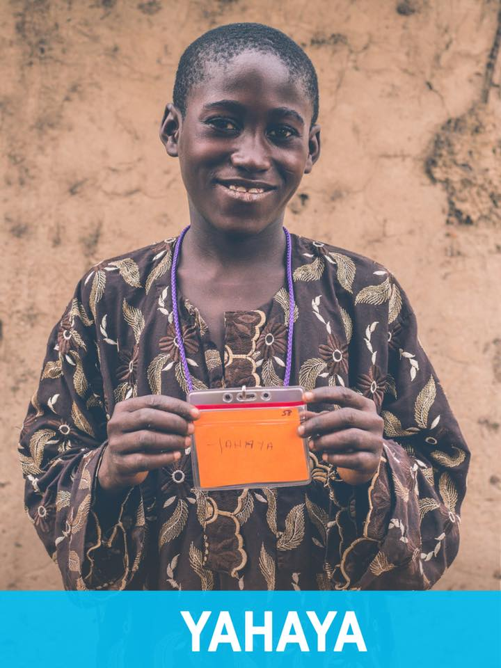 Yahaya - Available - Yahaya is 11, loves playing soccer, and hopes to become a teacher.