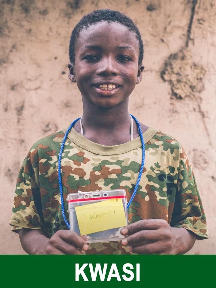 Kwasi - Available -  He is 11 and plans on being a teacher.
