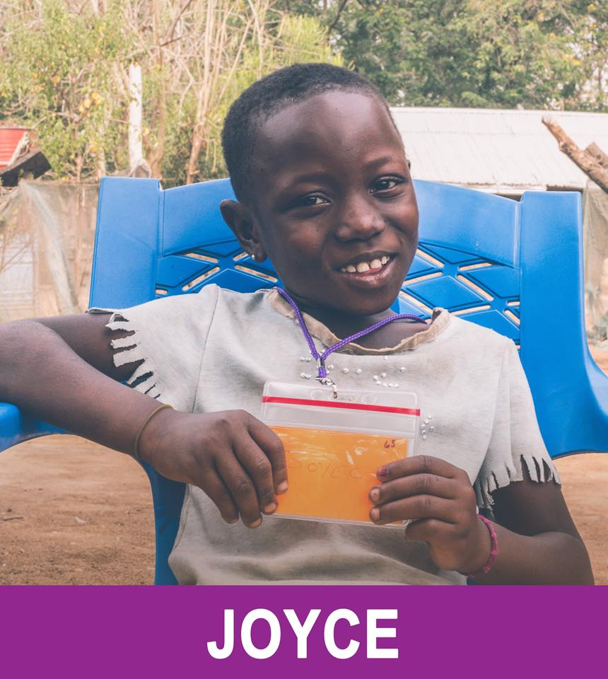 Joyce - Available -  Joyce is 7, and wants to be a nurse and sing.