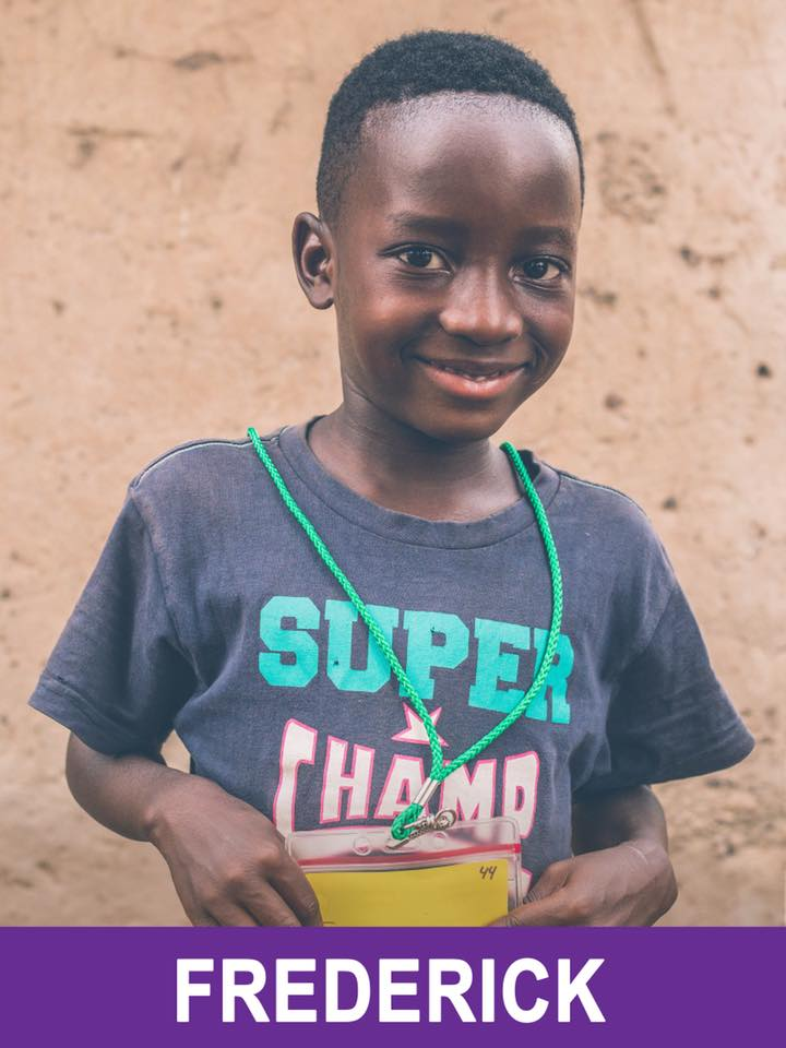 Frederick - Sponsored -  He is 4, loves art, and wants to be a Policeman.