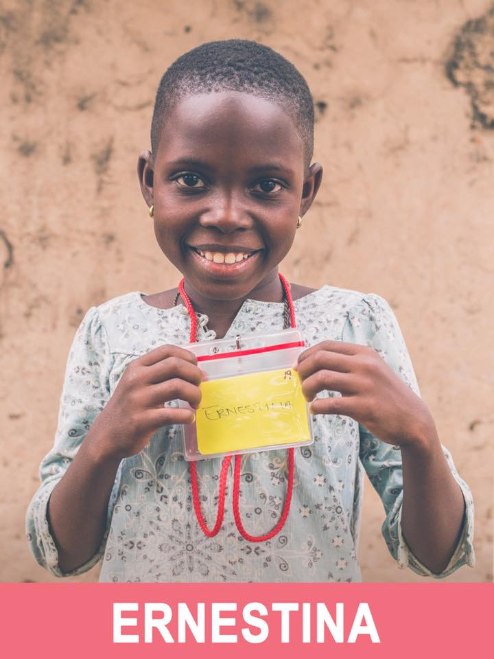 Ernestina - Available - She is 8 years old and want to be a nurse.