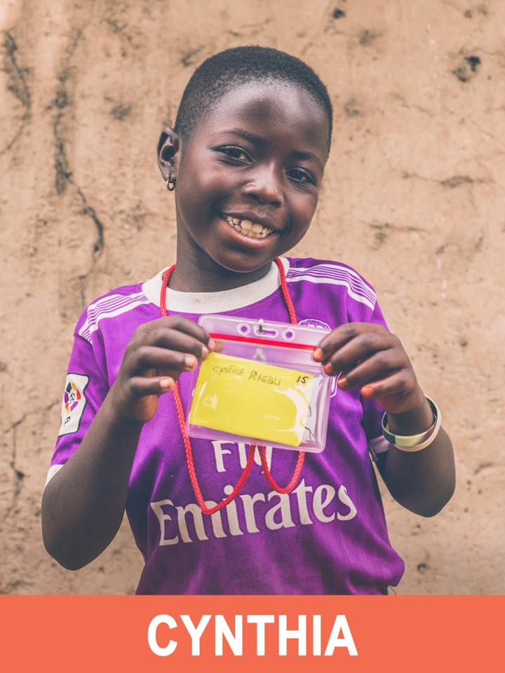 Cynthia - Sponsored - She is 9 years old and wants to be a teacher.