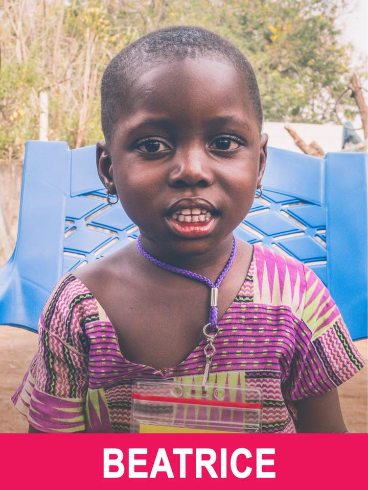 Beatrice - Sponsored - Beatrice is 4 and loves playing with friends.