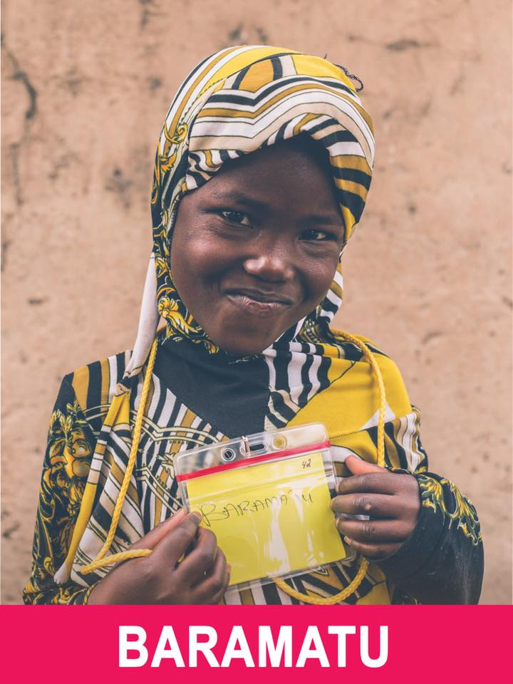 Baramatu - Available - She is 6 and wants to be a nurse.