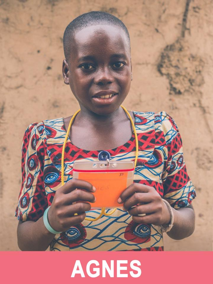 Agnes - Sponsored -  She is 13, loves art, and wants to be a teacher.
