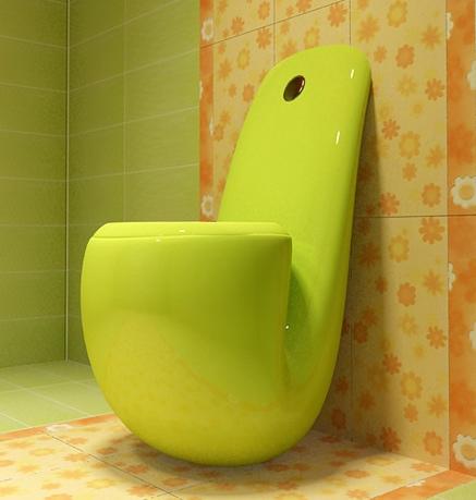 pipe toilet
