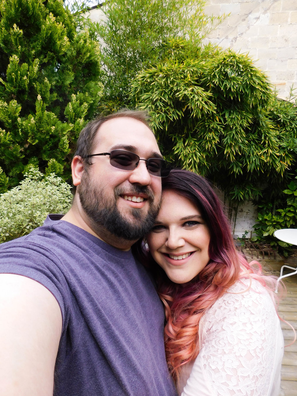 - I was recently fortunate enough to spend a little over a week in France for my honeymoon with this incredible man.That's my husband Joel. He's a cutie pie.