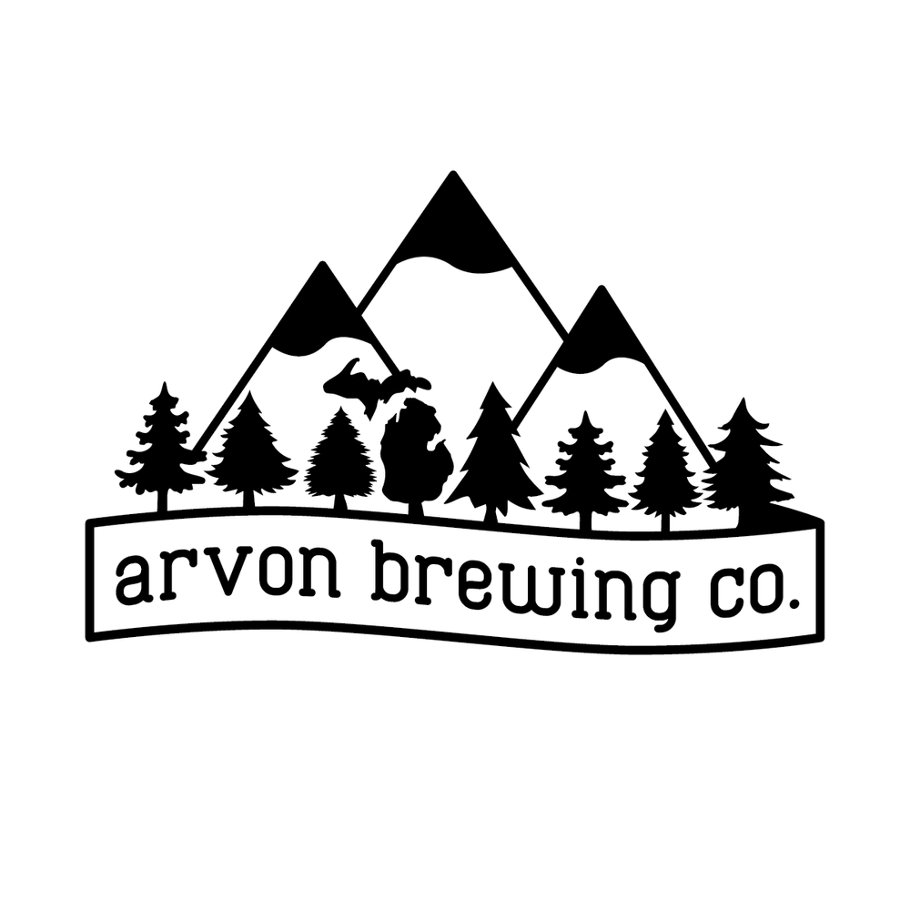 Arvon Brewing Co Black on White Logo.png