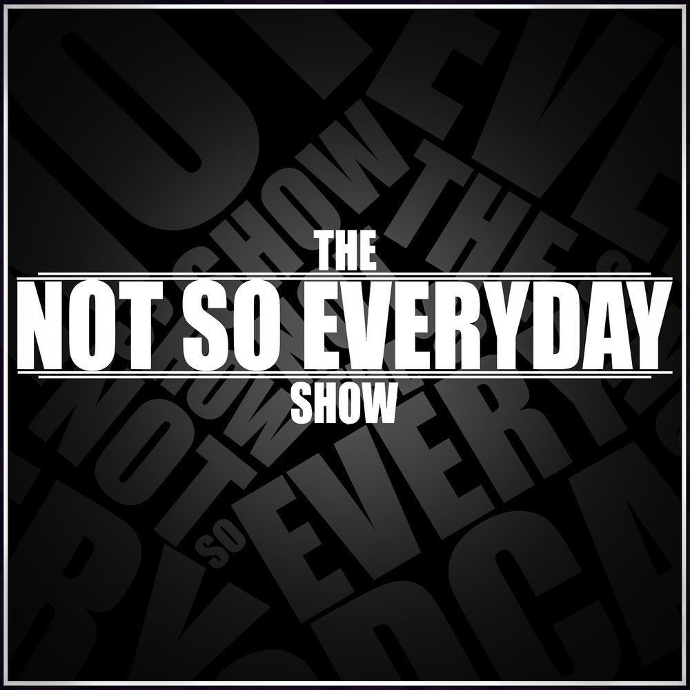 The Not So Everyday Show - The Not So Everyday Show is a podcast where we dive into the lives of creatives and find out what makes them the people they are today. Beginning with life before their current career, we follow their life stories showing that no matter the road you take, success can always be achieved.Available anywhere you listen to podcasts.