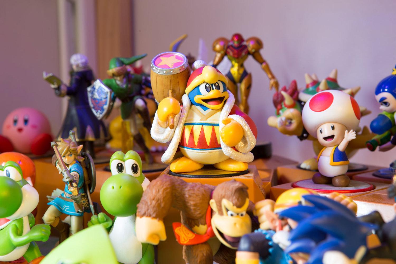 King Dedede Amiibo Animation Dusty Game Box