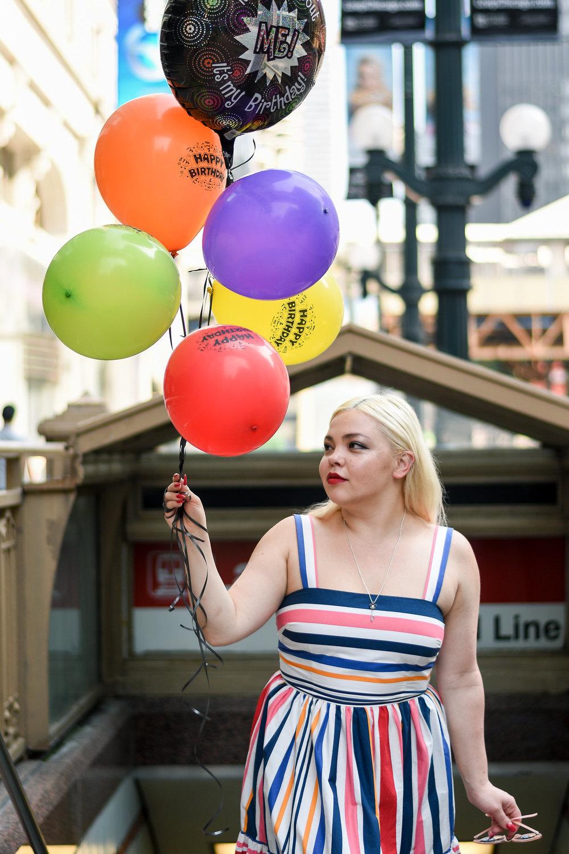 Fashion blog Chicago theater 4