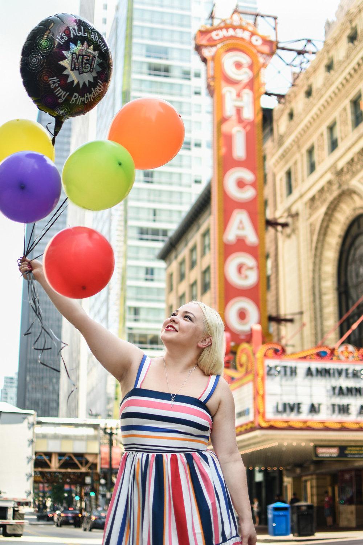 Fashion blog Chicago theater 7