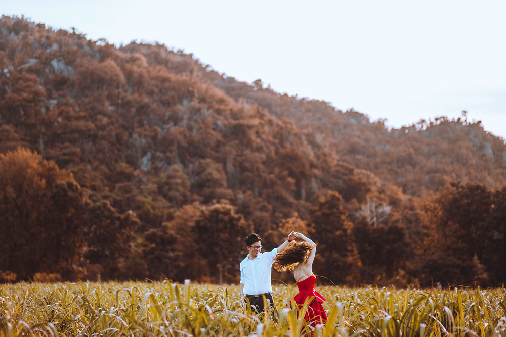 Destination Pre Wedding Photoshoot in Bangkok, Thailand