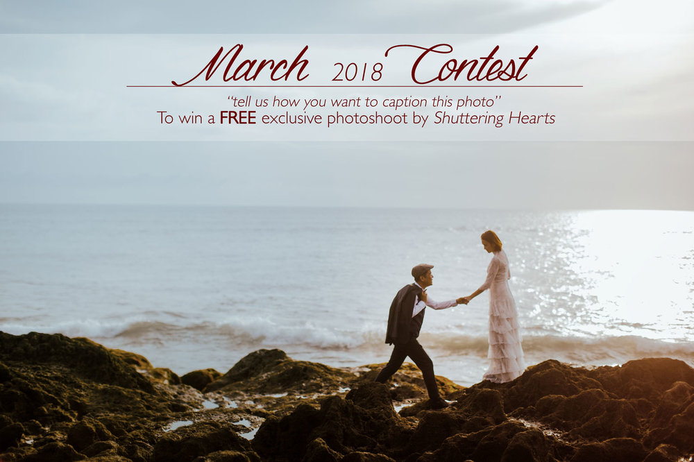 Photoshoot Contest: Capture & Win FREE EXCLUSIVE Photoshoot with Shuttering Hearts, Top Wedding Photographer in Malaysia