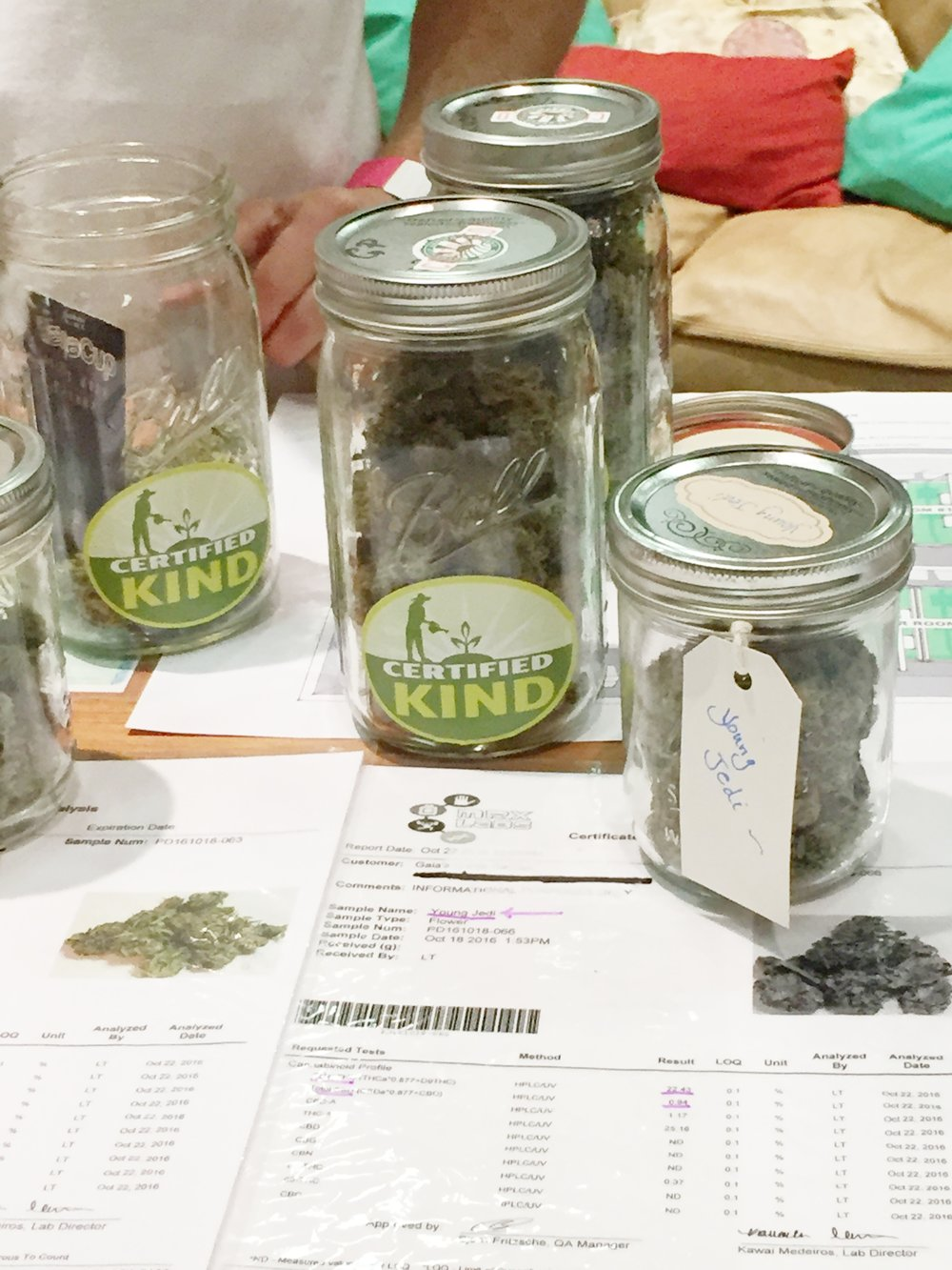 Oregon Cannaabis Certified Kind Jars.JPG