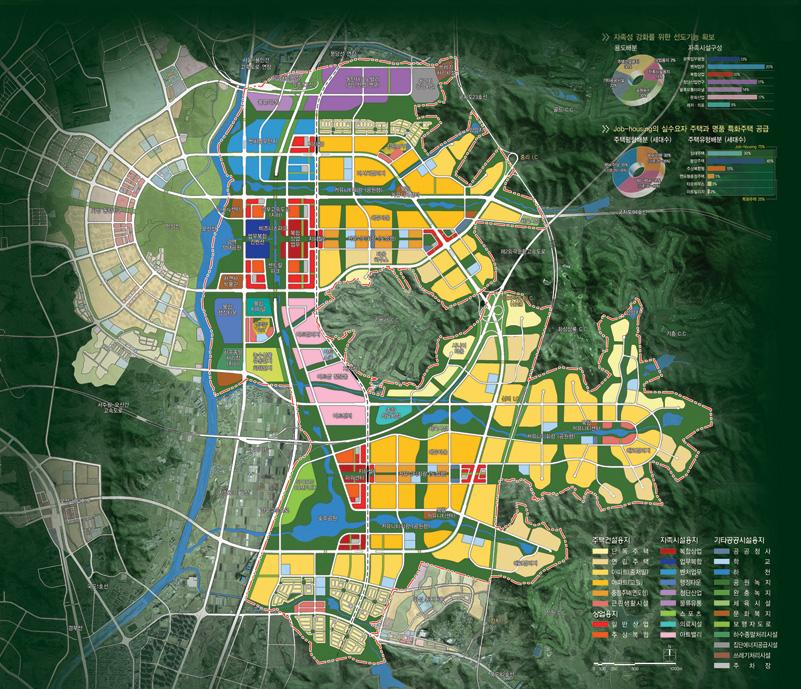 동탄2신도시 마스터플랜 및 지구단위계획, 2008년