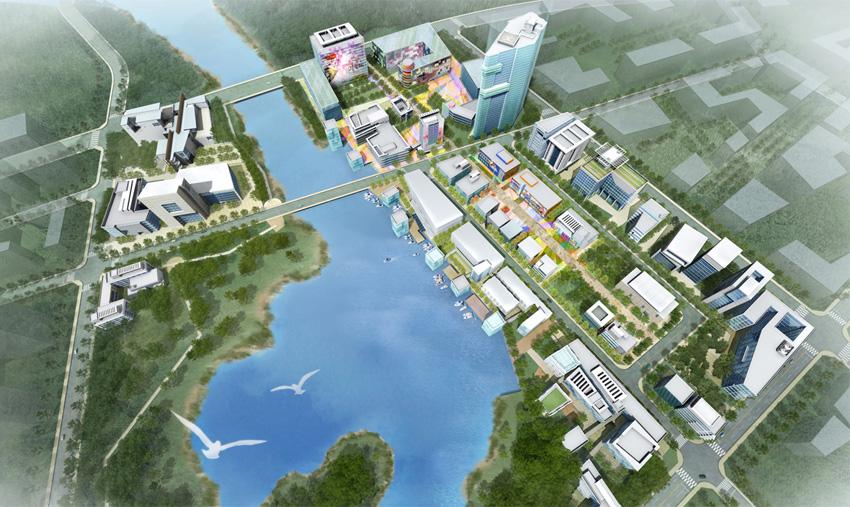 경남혁신도시 마스터플랜 제안서, 2006년