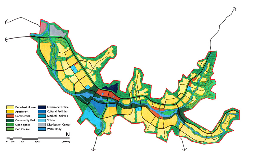 강원도 전원신도시 개발구상, 1997년
