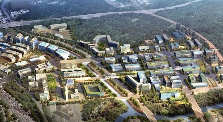 판교테크노밸리 마스터플랜 및 지구단위계획, 2007년