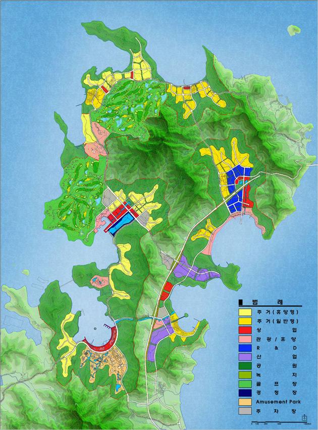 거제도 복합관광레저도시 개발구상, 2004년