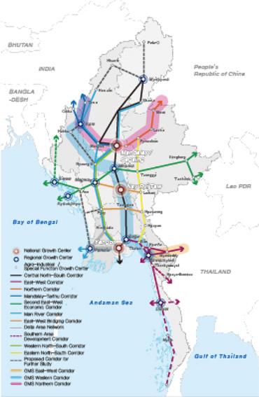 한-미얀마 경제협력산업단지 지역분석 및 개발방향 설정, 2015년